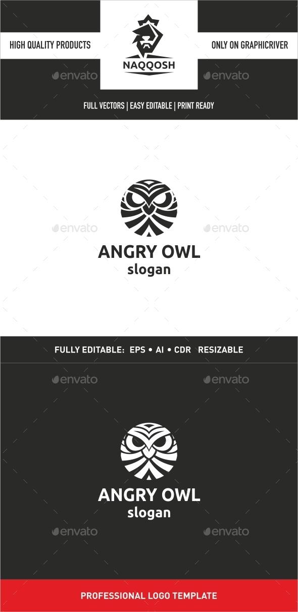 GraphicRiver Angry Owl 9991976