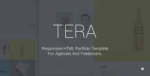 Tera Responsive HTML5 Portfolio Template