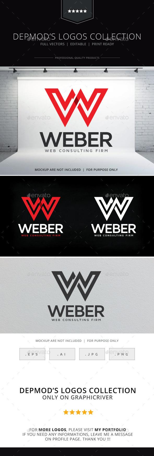 GraphicRiver Weber Logo 9992011
