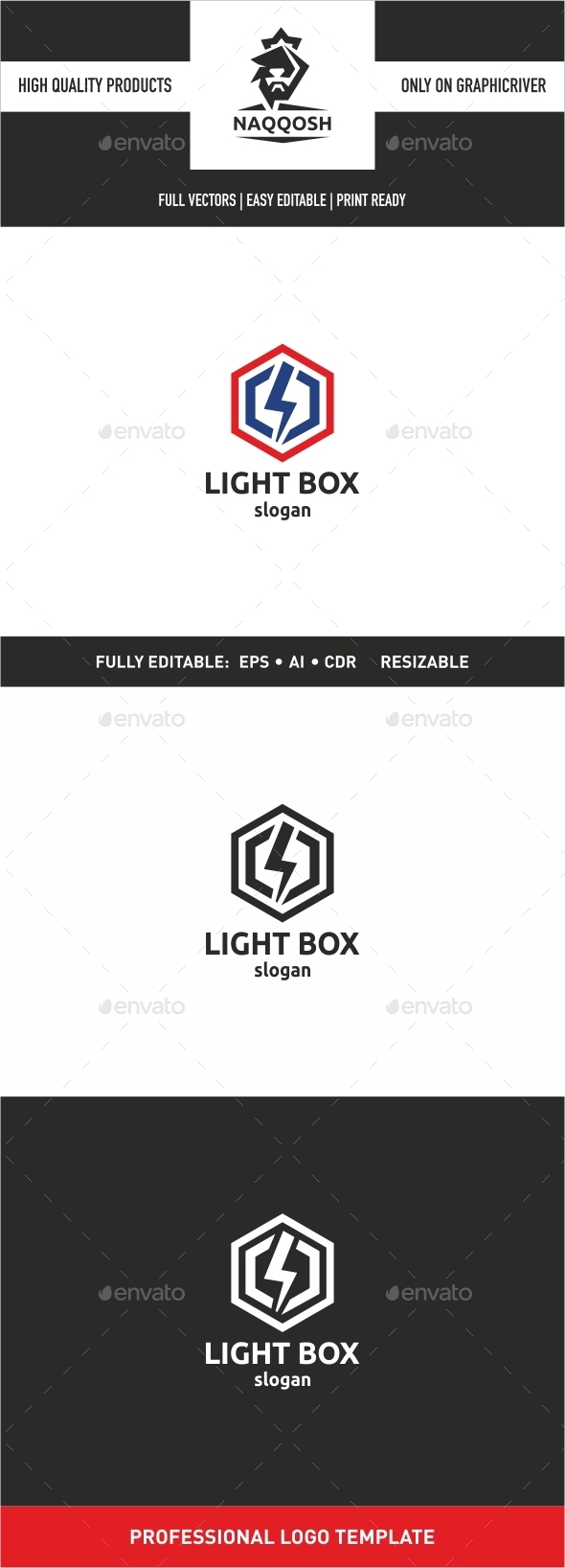GraphicRiver Light Box 9992016