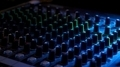 Mixing Console in Led Light - PhotoDune Item for Sale