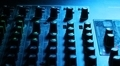Mixing Console in Blue Light - PhotoDune Item for Sale