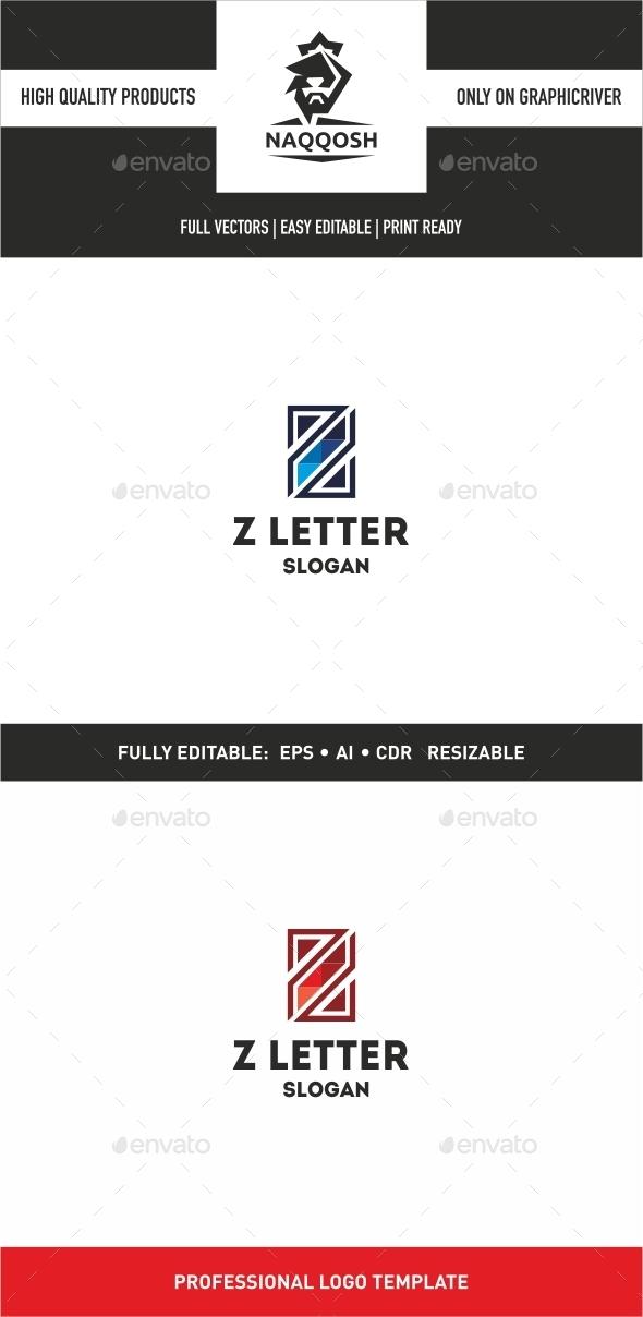 GraphicRiver Z Letter 9992034