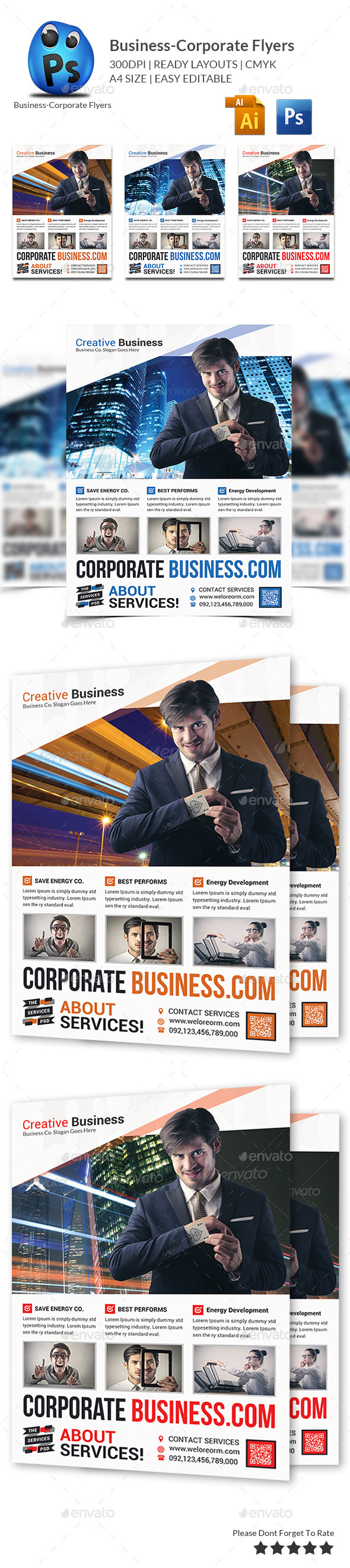 GraphicRiver Best Business Flyers Templates 9992044