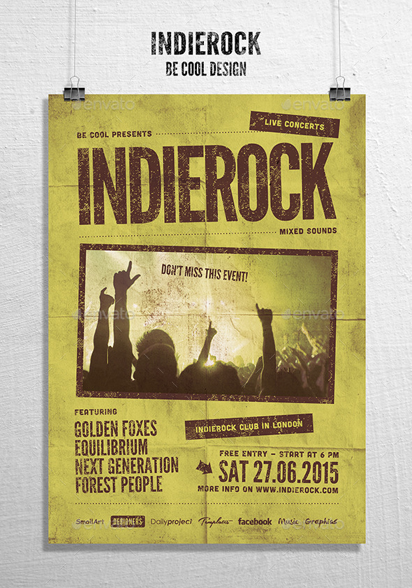 GraphicRiver Indie Flyer Poster 9992103