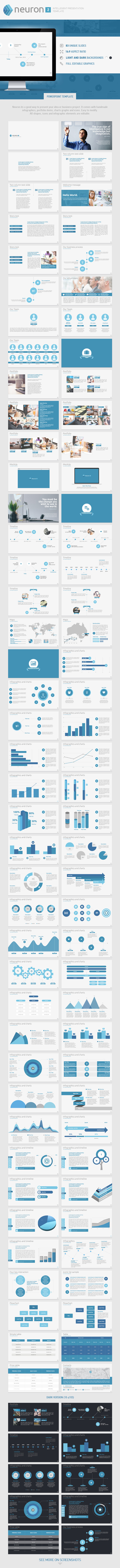 Neuron Two PowerPoint Presentation Template
