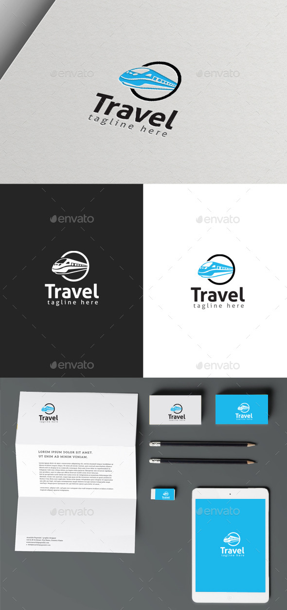 GraphicRiver Travel Logo 9992540