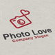 Photo Love Logo - GraphicRiver Item for Sale