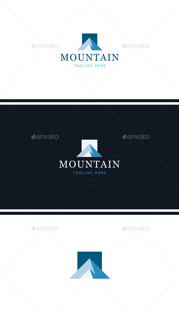 GraphicRiver Mountain Logo Template 9993214