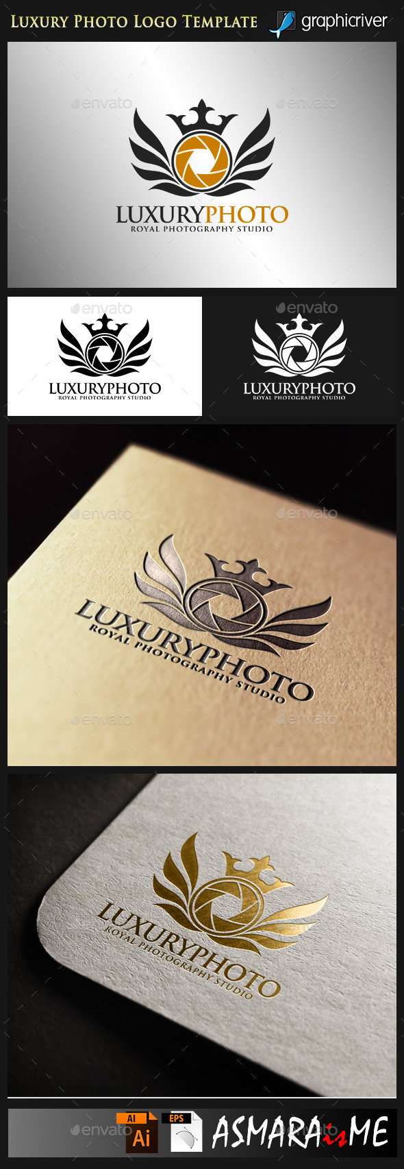 GraphicRiver Luxury Photo Royal Photography Studio 9993433