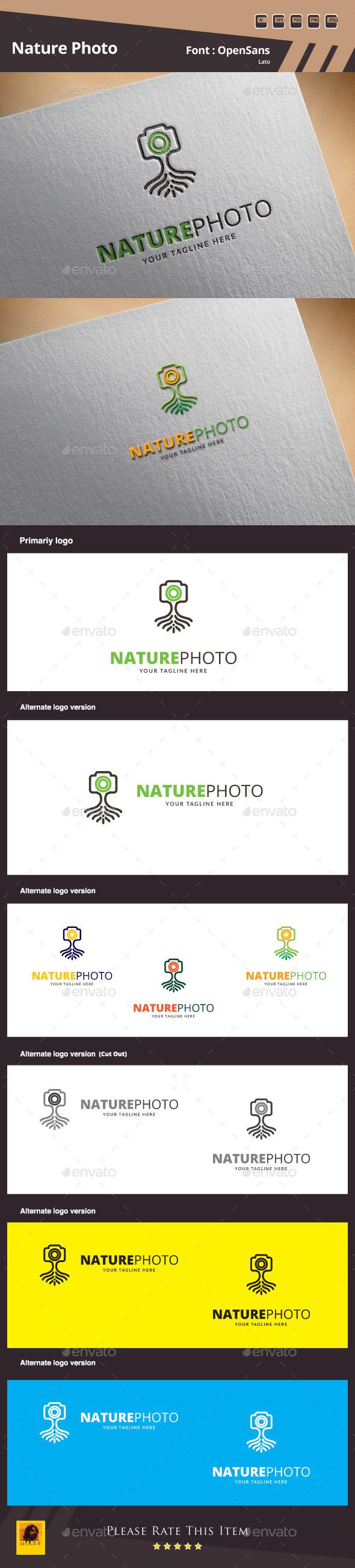 GraphicRiver Nature Photo Logo Template 9993495