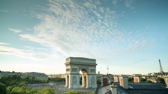 Arc Du Triomphe Paris France 9