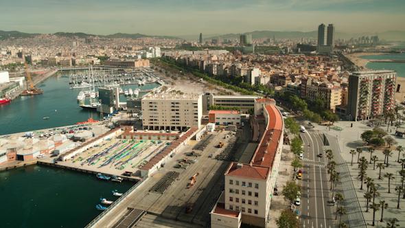 Barcelona Skyline 20