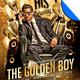 Golden Boy Birthday Flyer Template - GraphicRiver Item for Sale