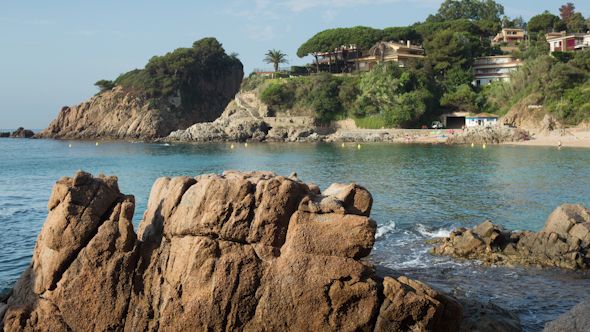 Beautiful Bay On The Spanish Costa Brava Coast 3