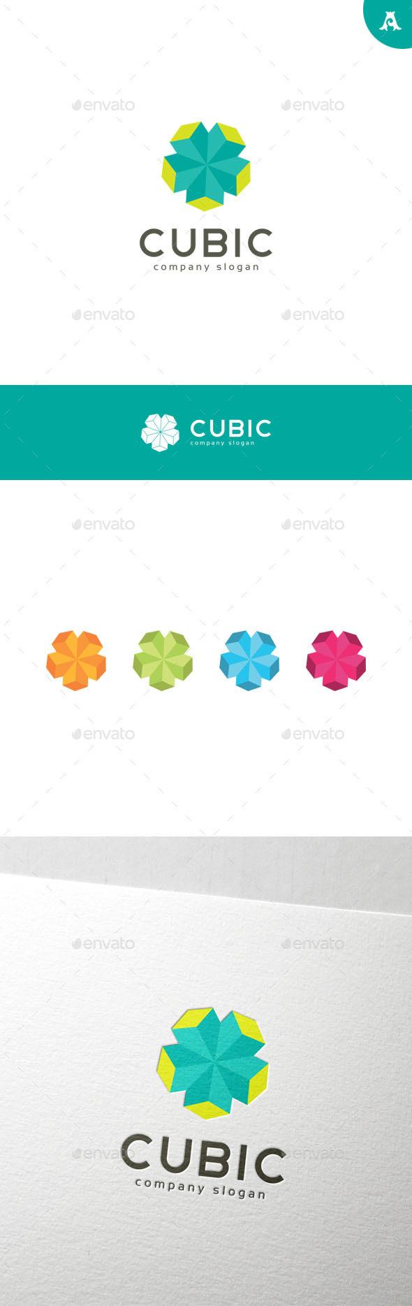 GraphicRiver Cubic Logo 9993649