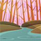 Forest Stream - GraphicRiver Item for Sale