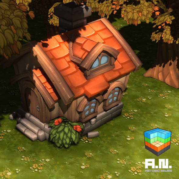 3DOcean Lowpoly house 9993918