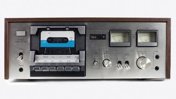 Cassettes Changing In A Retro Tape Player 18