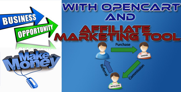 CodeCanyon Affiliate Marketing Tool for Opencart 9993966