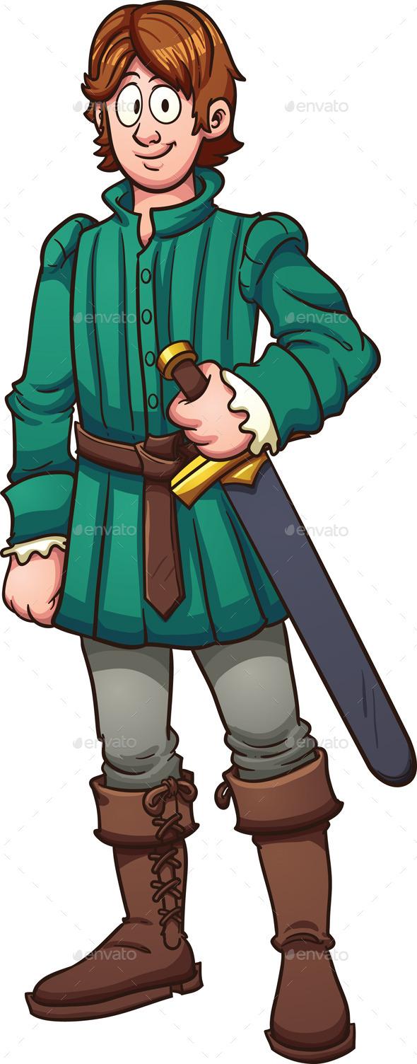 GraphicRiver Medieval Prince 9993980