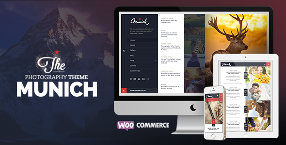 ThemeForest Munich Photography Wordpress Theme 9911498