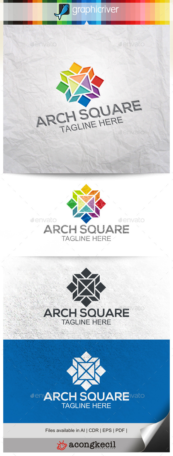 GraphicRiver Architecture Square V.4 9994126