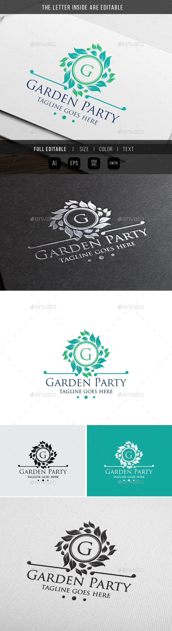 GraphicRiver Luxury Garden Classy Party 9994133