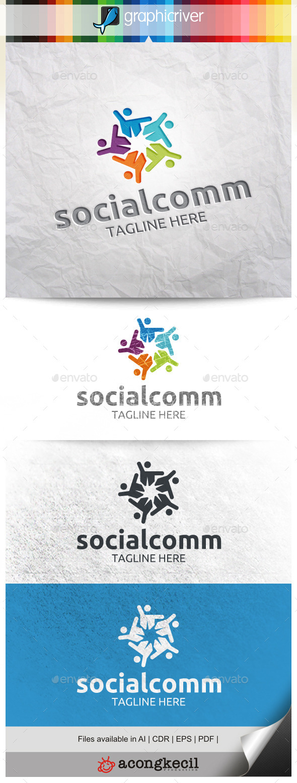 GraphicRiver Social Community V.2 9994163