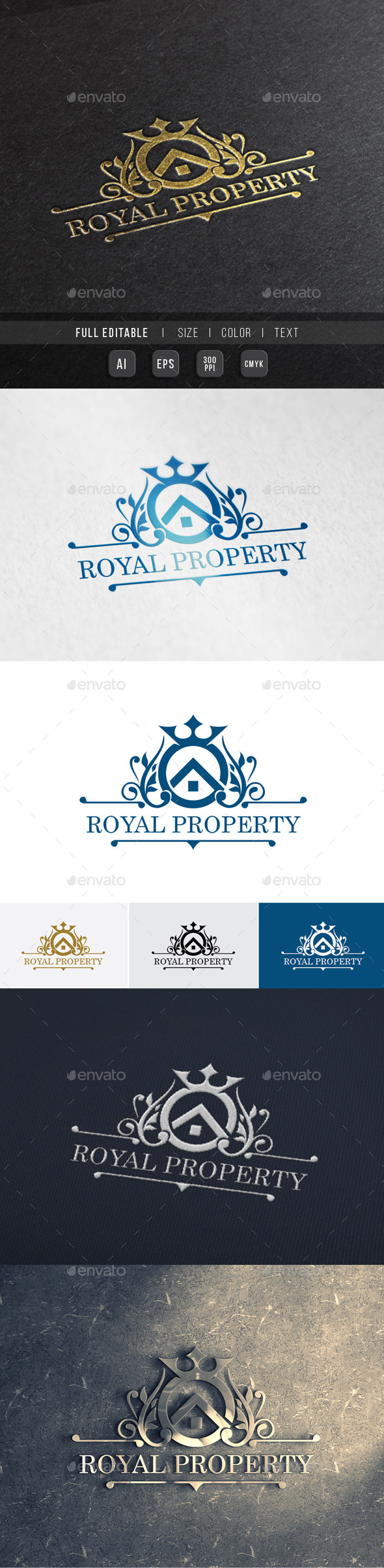 GraphicRiver Elite Property Royal House 9994182