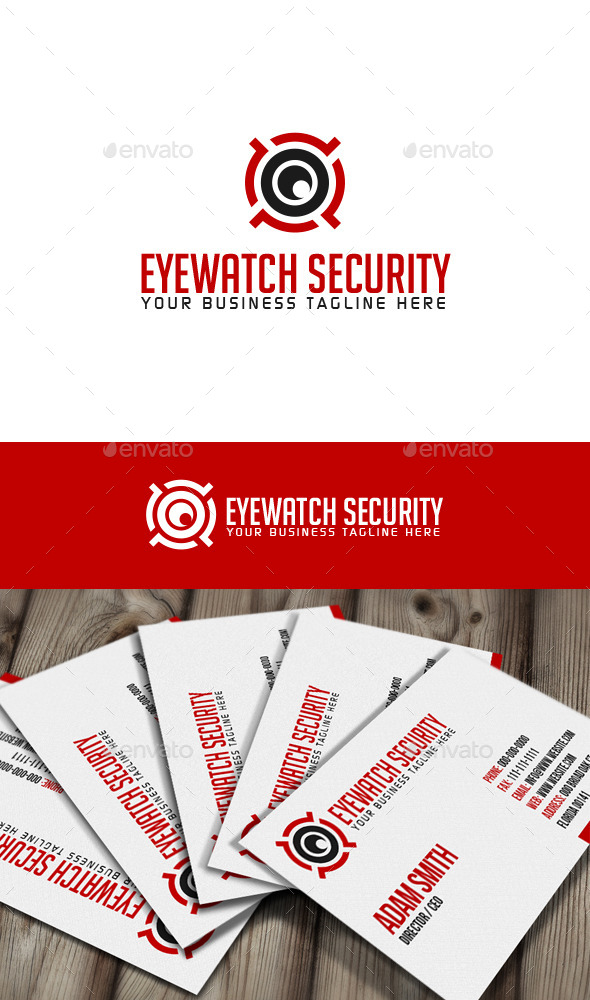 GraphicRiver Eyewatch Security Logo 9994230