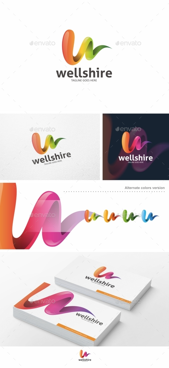 GraphicRiver Wellshire Logo Template 9994243