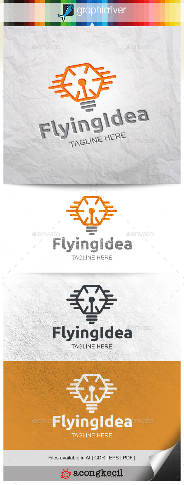 GraphicRiver Flying Idea 9994278