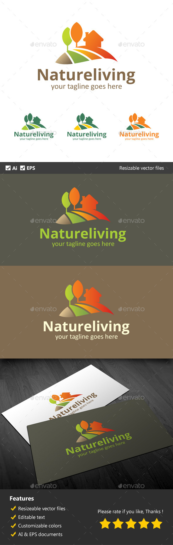 GraphicRiver Natural Living 9994281