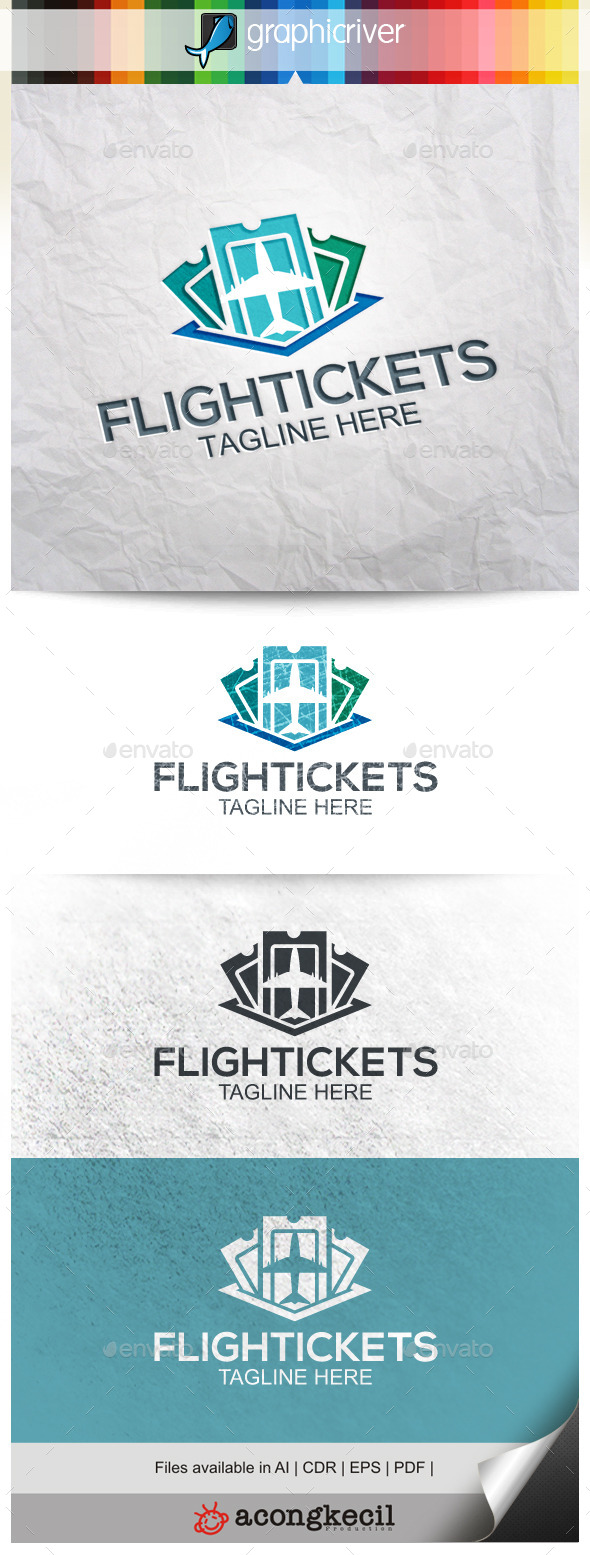 GraphicRiver Flight Tickets 9994287