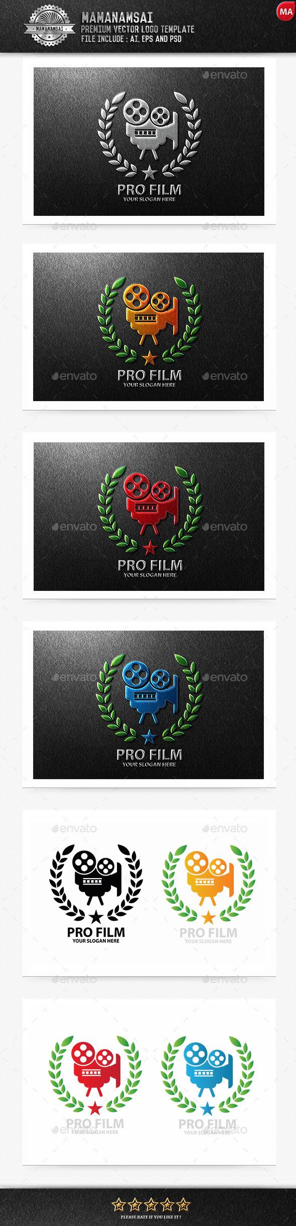 GraphicRiver Pro Film Logo 9994414