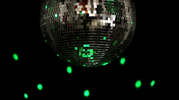 Funky Discoball Spinning 3