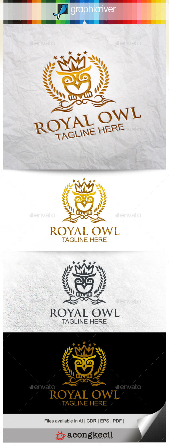 GraphicRiver Royal Owl 9994464