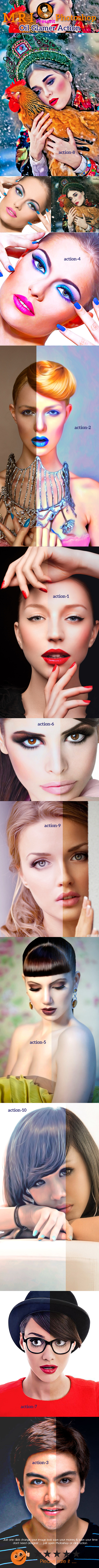 GraphicRiver Oil Glamer Action 9994507