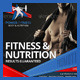 Sports Fitness & Nutrition Flyer - GraphicRiver Item for Sale