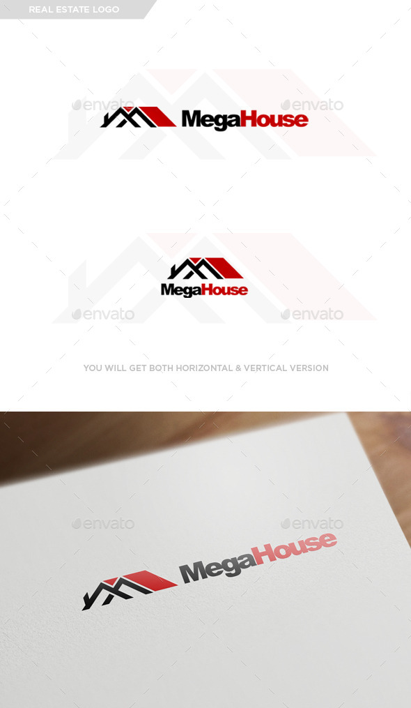 GraphicRiver Real Estate Logo Design 9994541