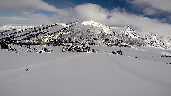 Freeride Snowboarding