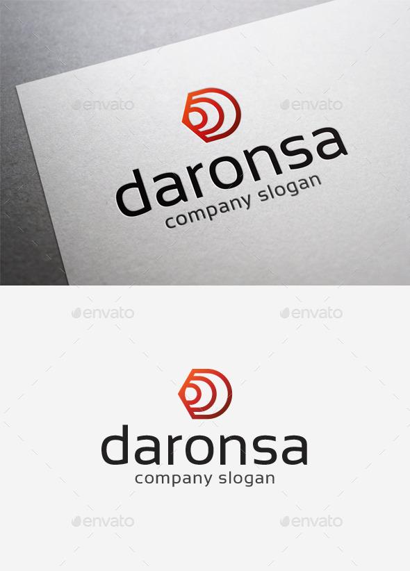GraphicRiver Daronsa Logo 9994843