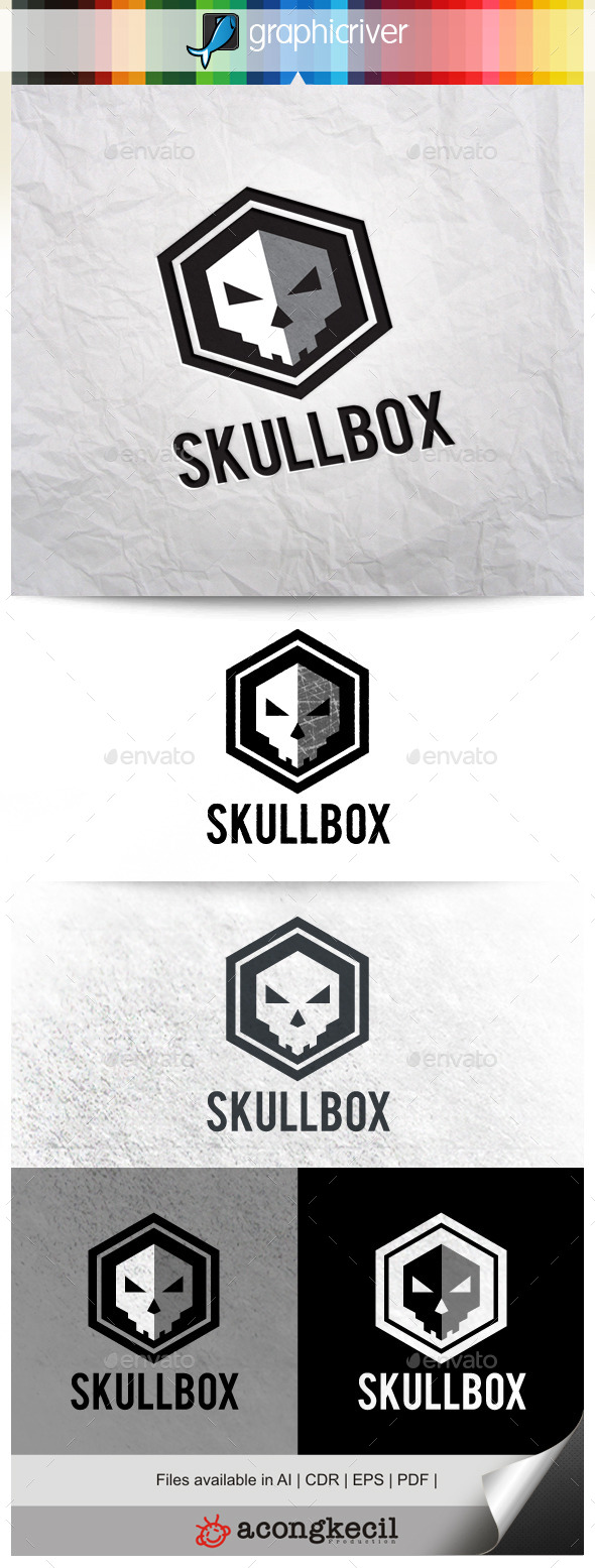 GraphicRiver Skull Box 9994938