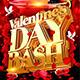 Valentine's Day Bash Flyer Template  - GraphicRiver Item for Sale