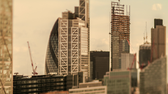 London Skyline England Financial District Business 1