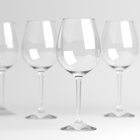 3DOcean Wine glasses 9995239