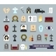 Funeral and Death Icons - GraphicRiver Item for Sale