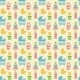 Seamless Colored Baby Items Pattern - GraphicRiver Item for Sale