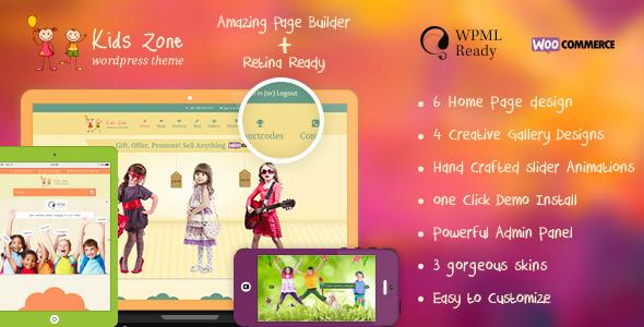 Kids Zone | Responsive Children Theme - Education WordPress